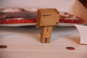 "Danbo The ""Pizza"" Thief 7of7 by Skycaller1311"