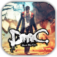 DMC: Devil May Cry Game Icon by Wolfangraul