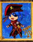 Pirate CHIBI 2D by Asoq