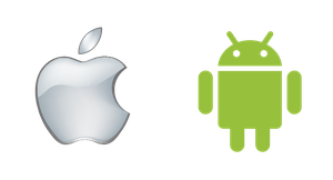 Logo Android e Apple by Bebecca