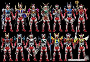 KR Baron Secondary Heisei Arms(Last Form Series) by tuanenam