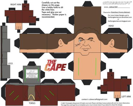 The Cape3: Pokerface Cubee by TheFlyingDachshund