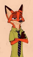 Nick Wilde by AbsoL-G
