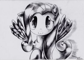 Fluttershy :3 by kapiicefruit