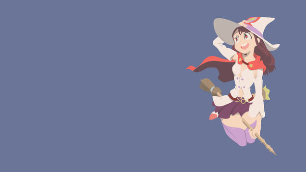 [Vector] Akko - Little Witch Academia by Hespen