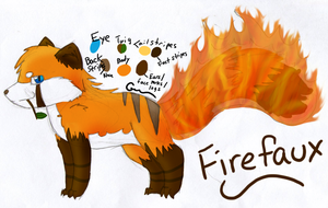 Firefaux Ref by Kitsumon