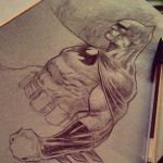 Free Batman sketch gievaway at NYCC Tabel P14 by Sajad126