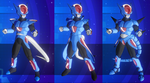 my Dragon ball Xenoverse chars 03 of 08 by DarkHedgehog23