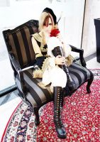 The Throne ~ TERU cosplay by Terukitty