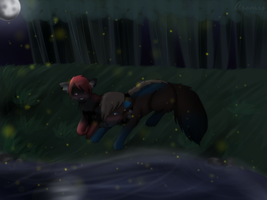 PC- Fireflies by AremisS