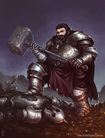 Dwarf champion by ArtDeepMind