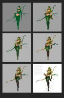 Alleria Progress by jasonlan