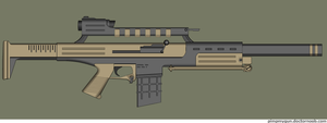 Jahad battle rifle by Robbe25