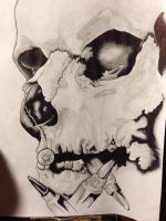 Skulls are the best by Damiannnnnnn