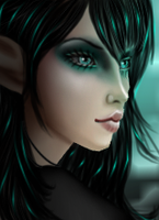 Teal Elf Dp by ImvuCel