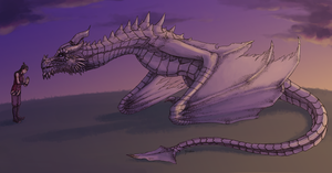 Paarthurnax and Zuko by yinza