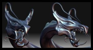 Saint Dragon - ZBrush by JoseAlvesSilva