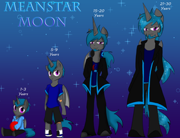 MeanStar's Grown up by DarkDreamingBlossom