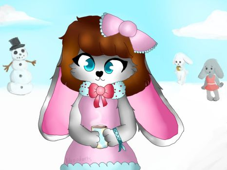 Belle the Bunny \\ OCs by lilypodarts