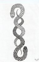 Snake Tattoo Ver. 1 by UsagiTenshi