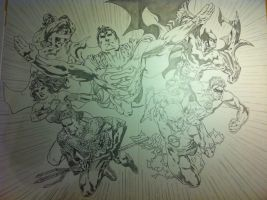 JLA by JCSMultimedia