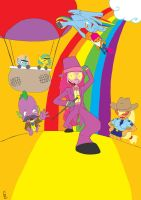 My Little Super Jail by PaperOri
