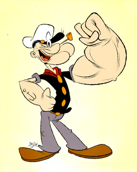 Popeye by Themrock