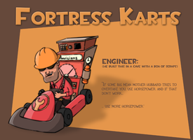 Fortress Karts - Engineer by Ludichrist