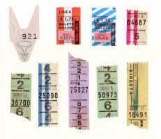 High-res bus tickets by sofcopello