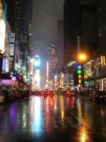 Times Square I by Yinni