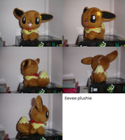 Eevee Plushie by LV9