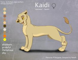 Kaidi - Character Design for Rinjapine by Nala15