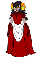 aradia chambermaid by Textbookdoppelganger