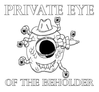 Private Eye of the Beholder Title by W74
