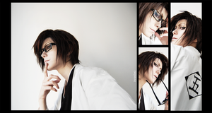 Aizen Sosuke Cosplay by InrasTEO