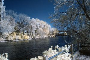 View of the Mississippi 2 in IR by dmurphy570