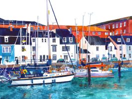 Port in Weymouth by takmaj