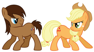Trailblazer and AppleJack by JennieOo