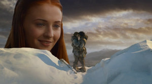 Sansa Stark Watching Her Brother by Maidenpool