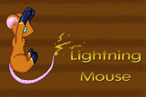 Lightning Mouse by doombunny13