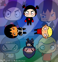 The Guys of Pucca by capcappucca222