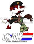 G.I. Pony: A Real American Brony by JolieBonnetteArt