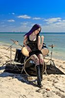 Drummer for Hire 3 by MordsithCara