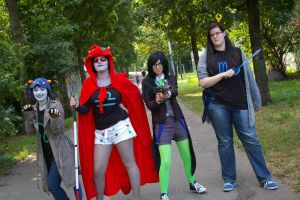 Homestuck - Group by Traumfressermon