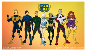 My DCU - Justice League International Redesigned by Femmes-Fatales