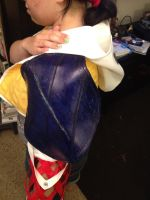 Tidus Shoulder Armor from Final Fantasy X 10 by jechtusrevan