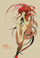Olimpos : Apollo by kiyu-yuu