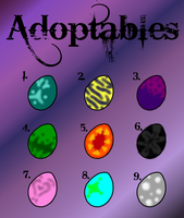Adoptable eggs -closed- by dragon-of-the-shadow