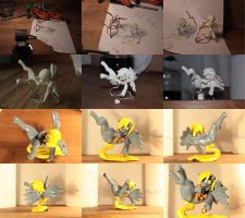 Derpy figurine creation by ci00rix