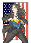 Commission of Wonder Woman by Ray-D-Sauce
